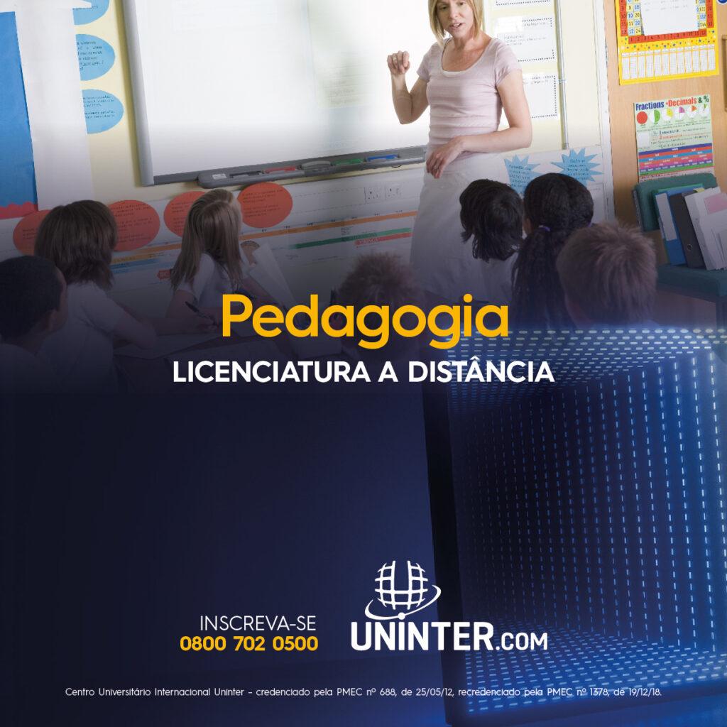 Você pode fazer o curso superior de pedagogia na Uninter se mora no Cabo de Santo Agostinho, Escada, Ipojuca e toda região.